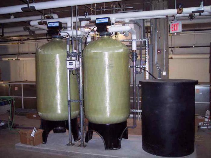 установка обезжелезивания воды