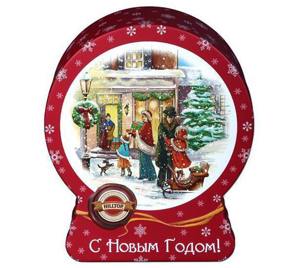 чай хилтоп новогодний