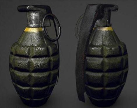 How to draw a grenade: step by step instructions