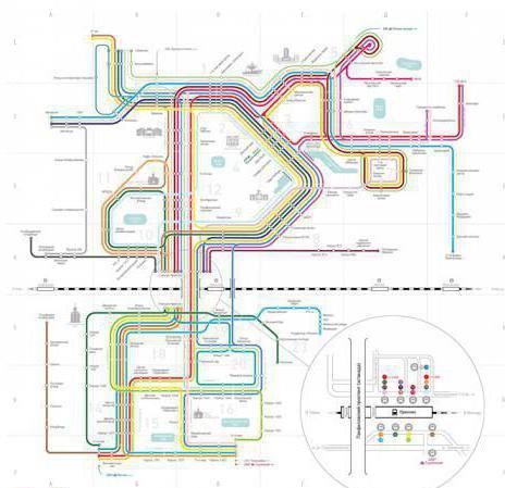 С речного вокзала до зеленограда схема