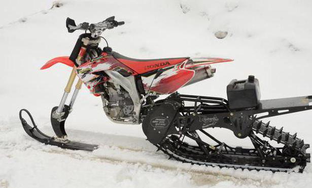 самодельная гусеница для мотоцикла