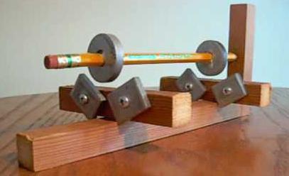магнитные подшипники на постоянных магнитах