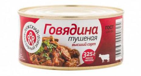 рейтинг тушенки из говядины