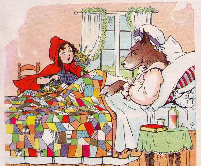 Красная шапочка и серый волк занимаются сексом игра