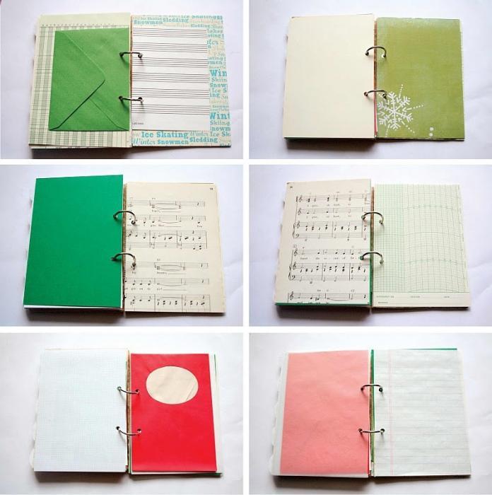 Украсить ежедневник своими руками