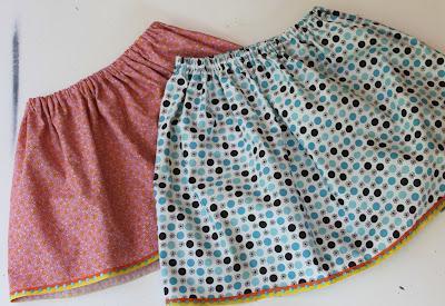 Как кроить юбку на резинке