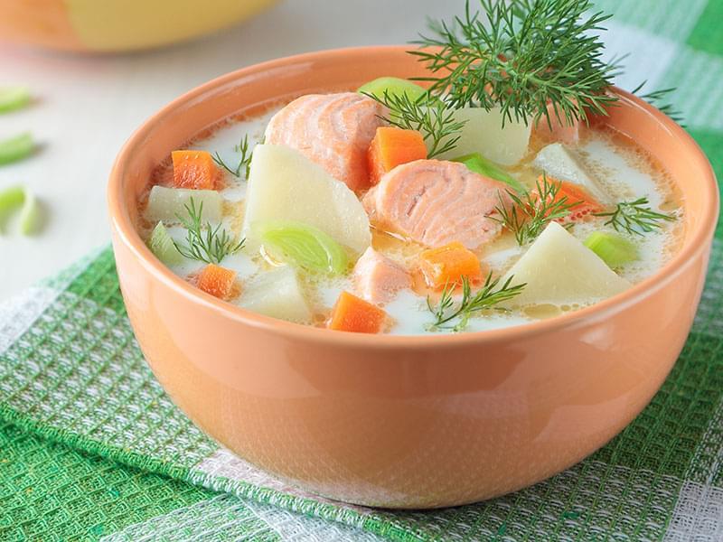 суп из рыбьих голов рецепт