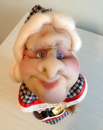куклы из капроновых колготок инструкция