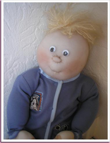 как шить куклу из колготок