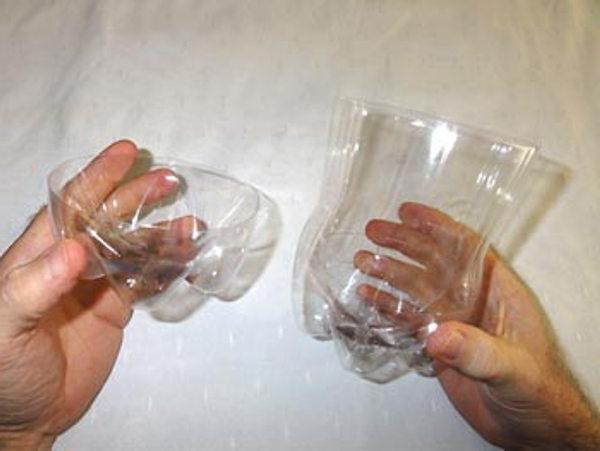 сделать пингвина из пластиковых бутылок