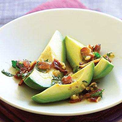 вкусный салат с авокадо