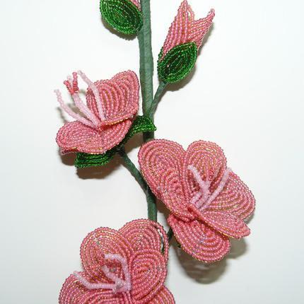 плетение бисером гладиолусы
