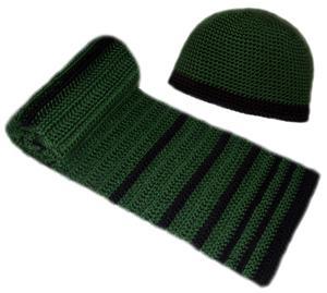 вязание крючком шапка мужская