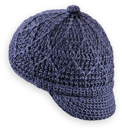 мужская шапка крючком вязание