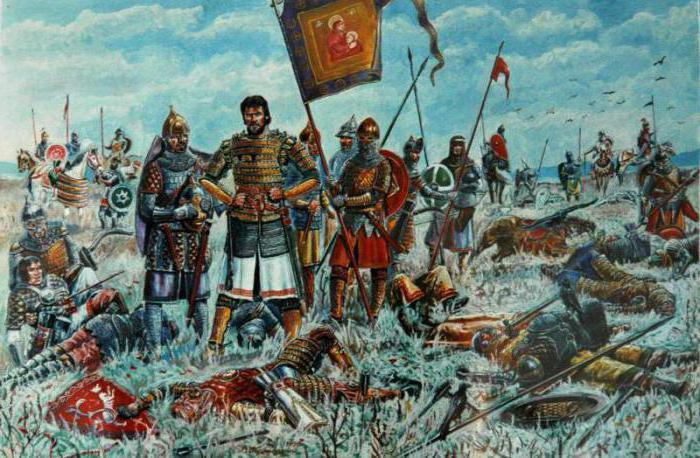битва на куликовом поле русское войско