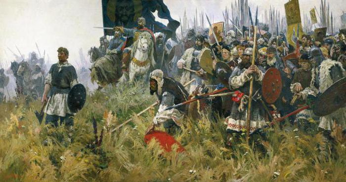 исторические события о битве на куликовом поле