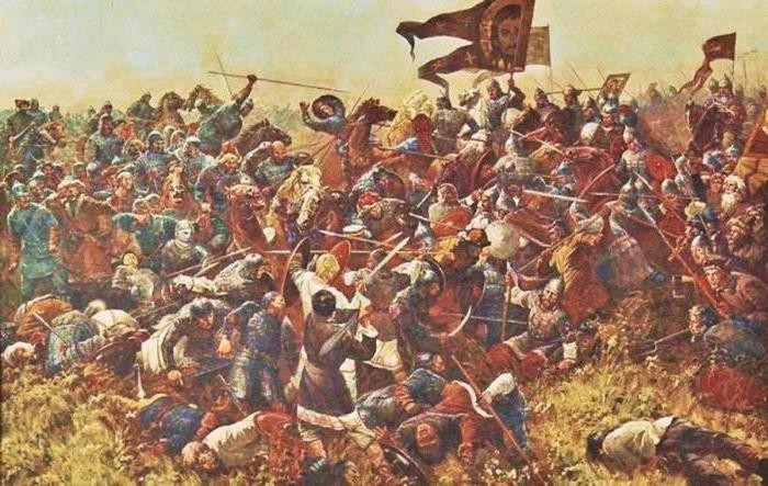 битва на куликовом поле в 1380 году