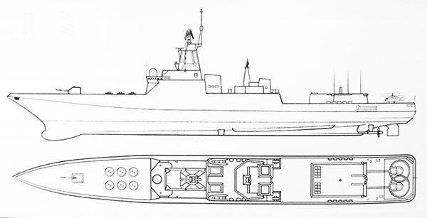 проект эсминца типа лидер