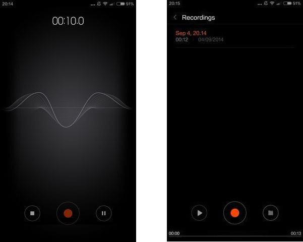 диктофон для записи разговоров на андроид