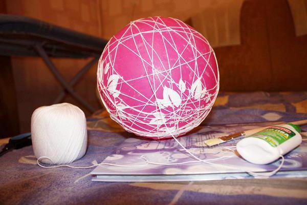 Снеговик из ниток: как сделать оригинальную поделку?