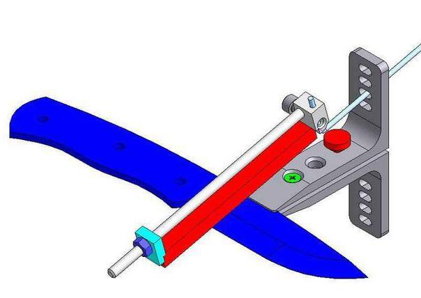 Чертеж станка для заточки ножей своими руками