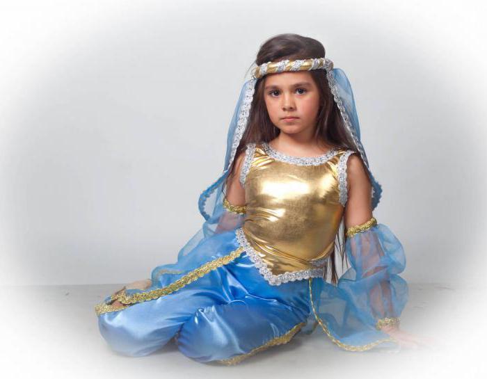 детский карнавальный костюм восточная красавица