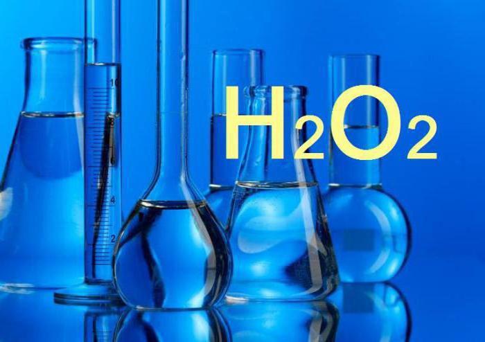 как сделать 3 процентную перекись водорода
