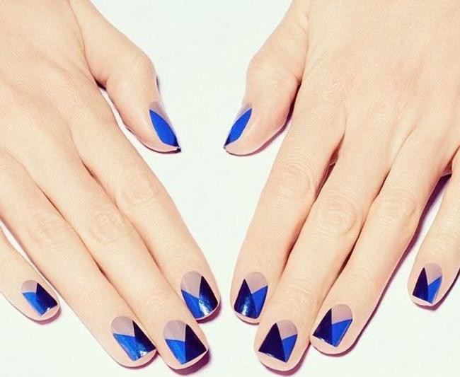 Геометрия на ногтях видео уроки