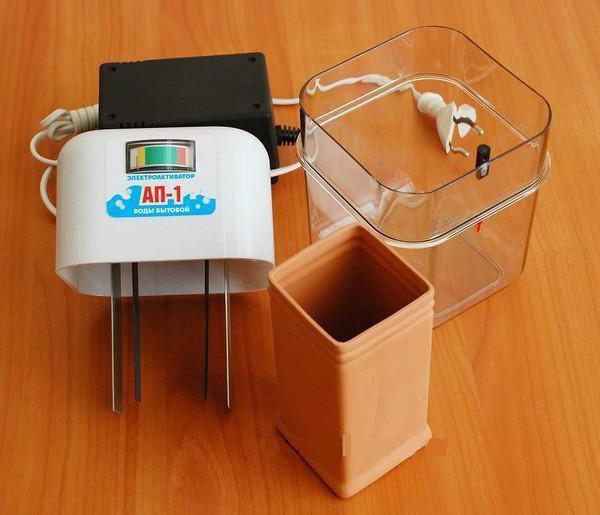 Электроактиватор воды АП-1: схема, отзывы, инструкция. Электроактиватор воды своими руками
