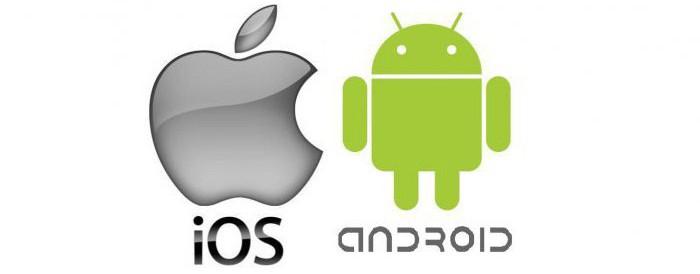 Эппл и Андроид
