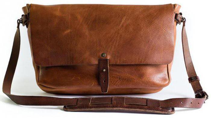 Купить кожаную сумку через плече женскую