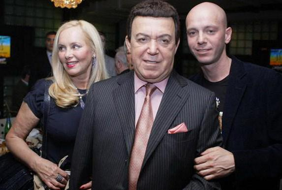 Андрей кобзон и его жена