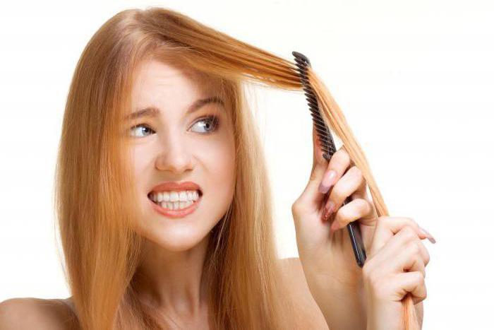 что делать чтобы не пушились волосы