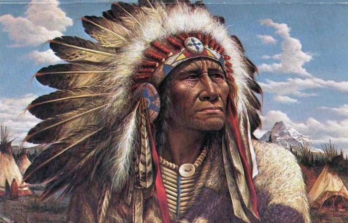 национальная одежда индейцев
