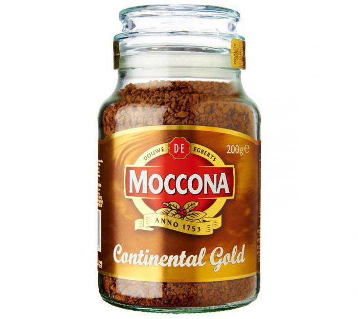Moccona Continental Gold