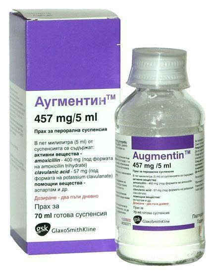 какой антибиотик лучше супракс или аугментин