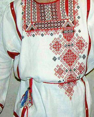рубаха русская