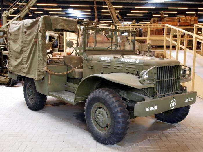 Dodge WC51 — американский армейский автомобиль повышенной проходимости