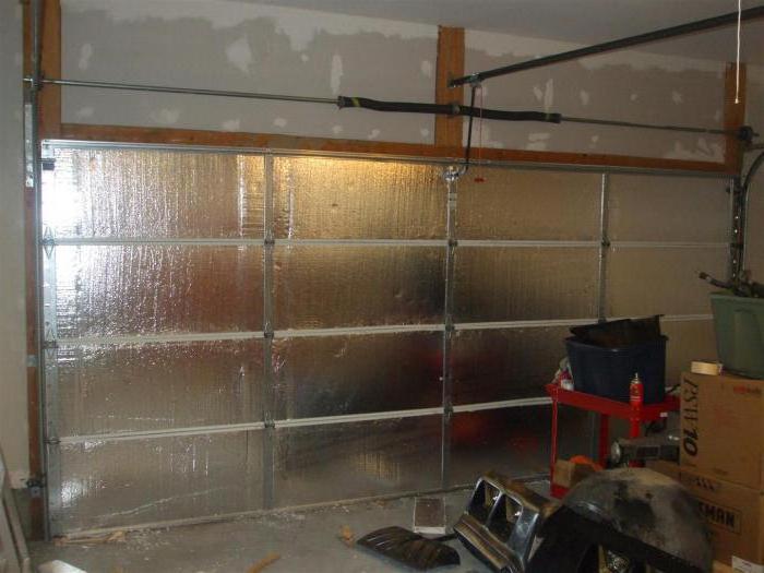 гараж из шлакоблока