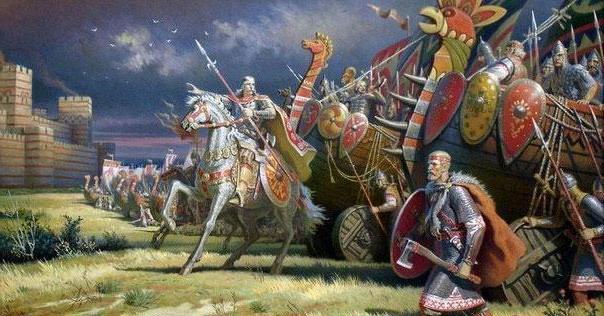 поход князя Олега на Киев в каком году