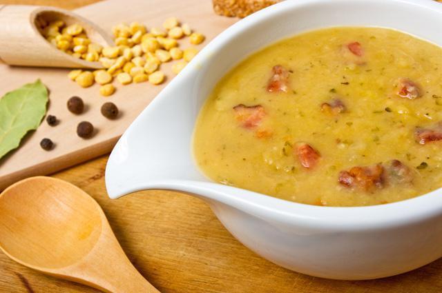 Почему не разваривается горох в супе? Как правильно замачивать горох?