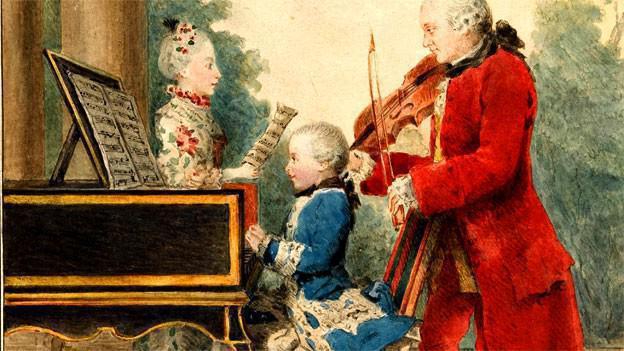 во сколько лет умер моцарт