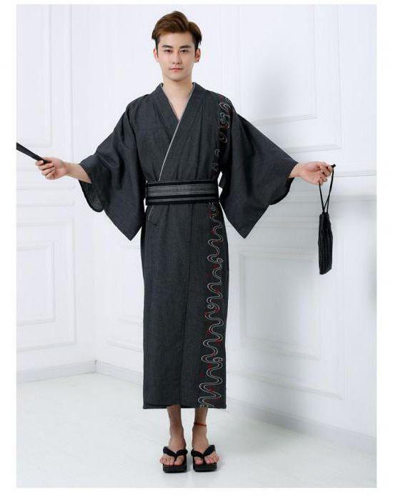 японский мужской костюм