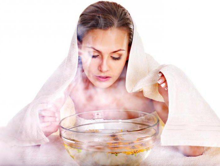 Паровая ванна для лица в домашних условиях