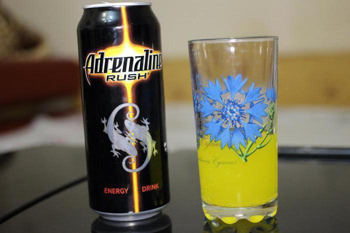 Адреналин состав напитка