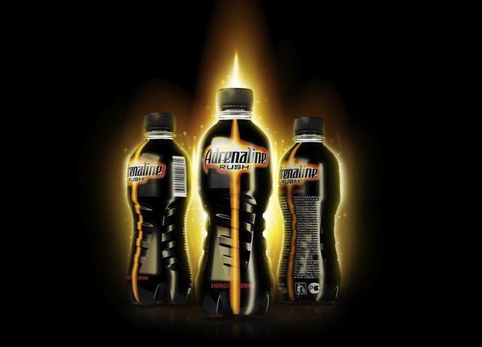 Адреналин энергетический напиток