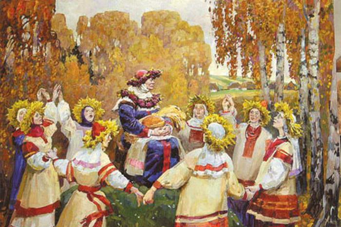 сложно обряды русского народа в картинках никто догадается