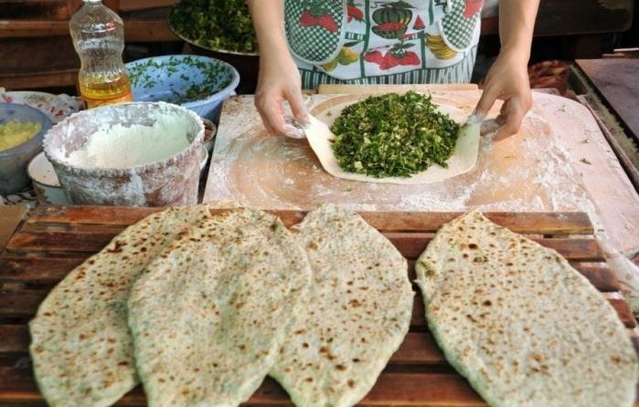 Пирожки с зеленью армянские рецепт с фото