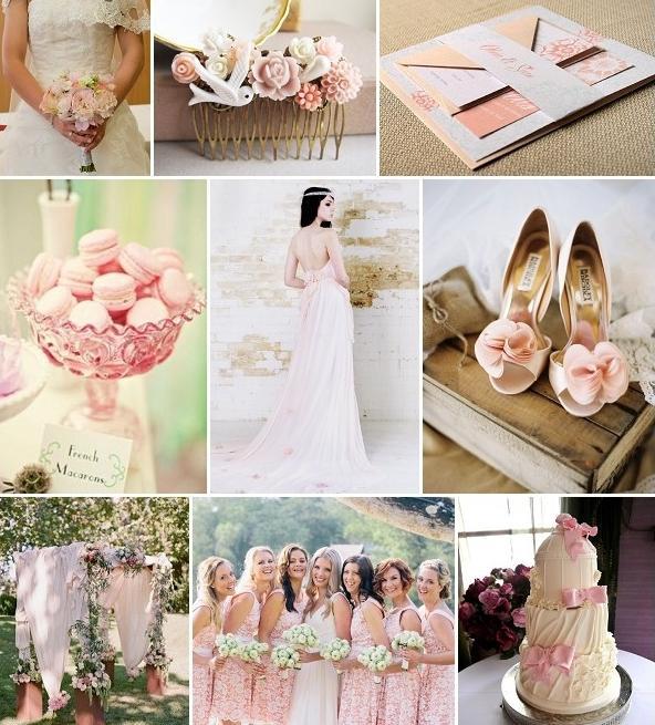 Таинственная красота ретро: свадьба в стиле шебби-шик