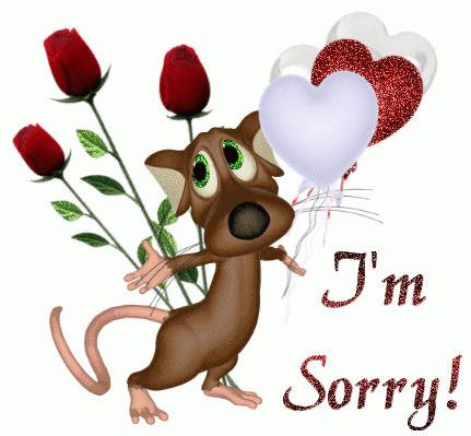 извинения перед девушкой слова